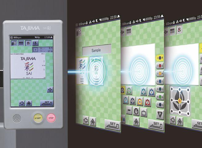 Dotykový LCD panel s intuitivním ovládáním